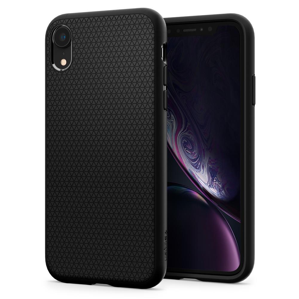 Spigen Liquid Air Matte Black Case for iPhone XR