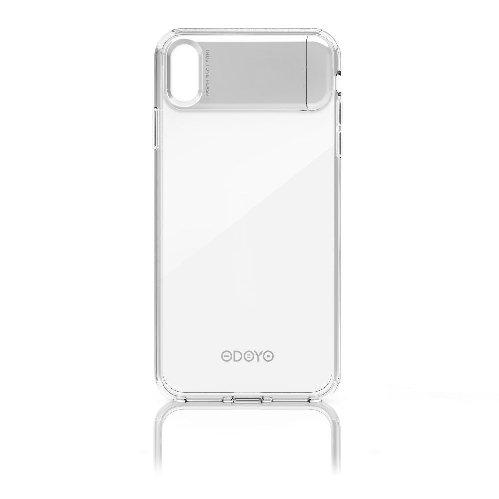 Odoyo Clear Edge+ Case Crystal Clear for iPhone XS Max
