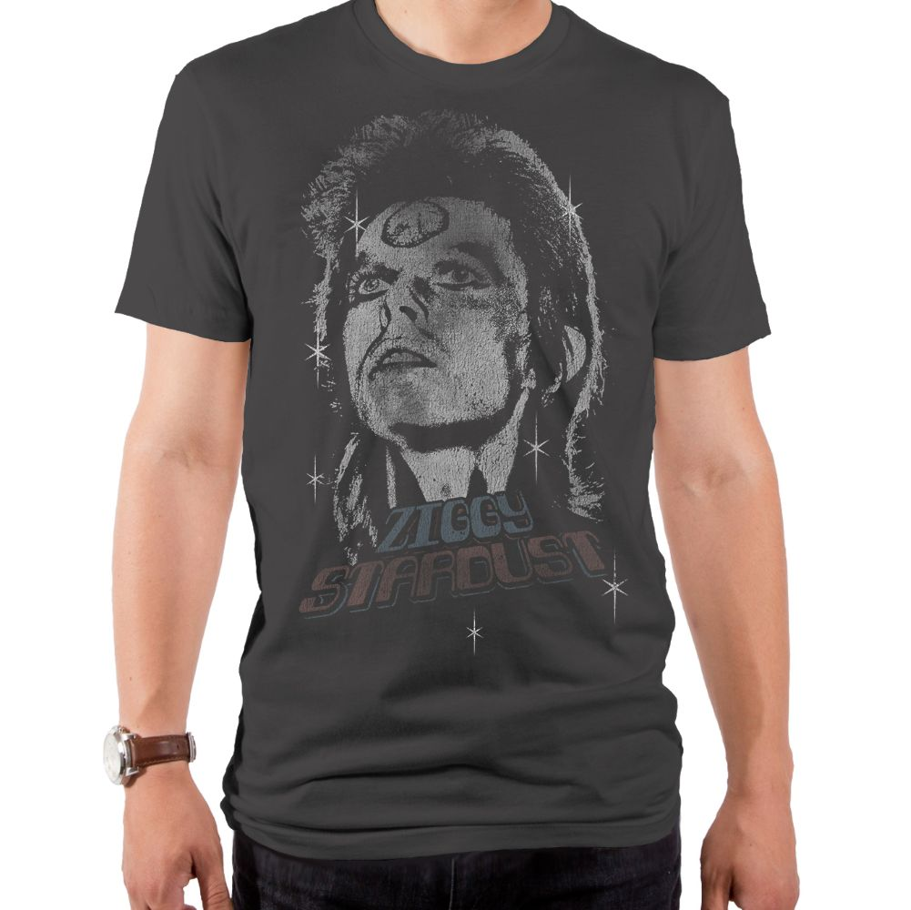 David Bowie Ziggy Vintage Men'S T-Shirt Heavy Metal L
