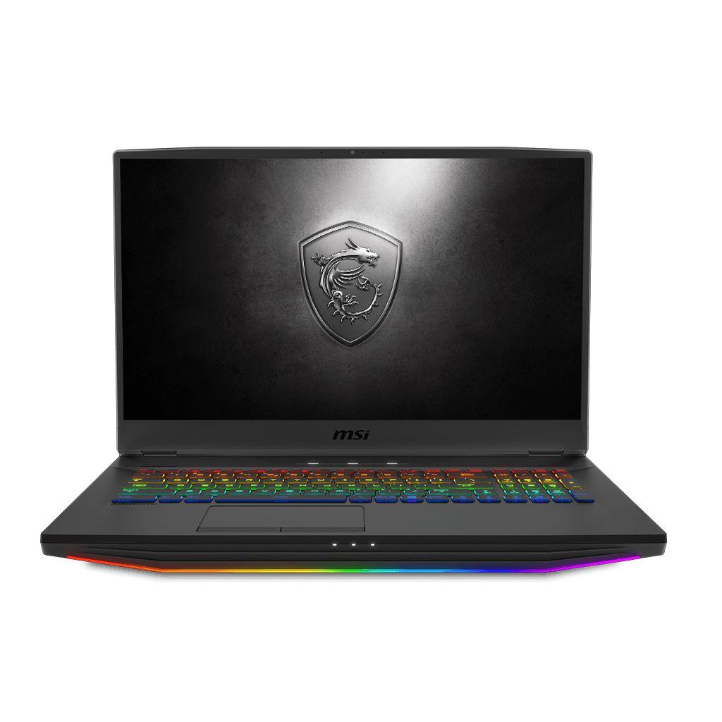 MSI GT76 Titan DT 9SG Gaming Notebook i9-9900K/3.6Ghz/64GB/1TB HDD +1TB SSD/Nvidia RTX2080 8GB/17.3 Fhd/Windows 10/Gray