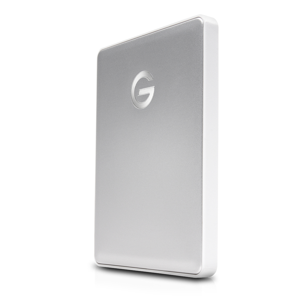 G-Technology 2TB G-Drive Mobile USB 3.1 Gen 1 Type-C External Hard Drive Silver