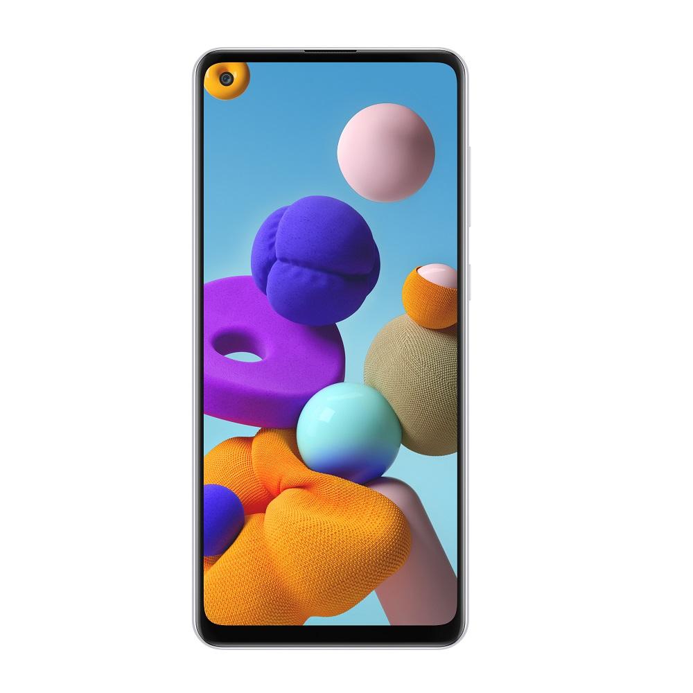Samsung A21S Smartphone White 64 GB/4GB/4G/Dual SIM