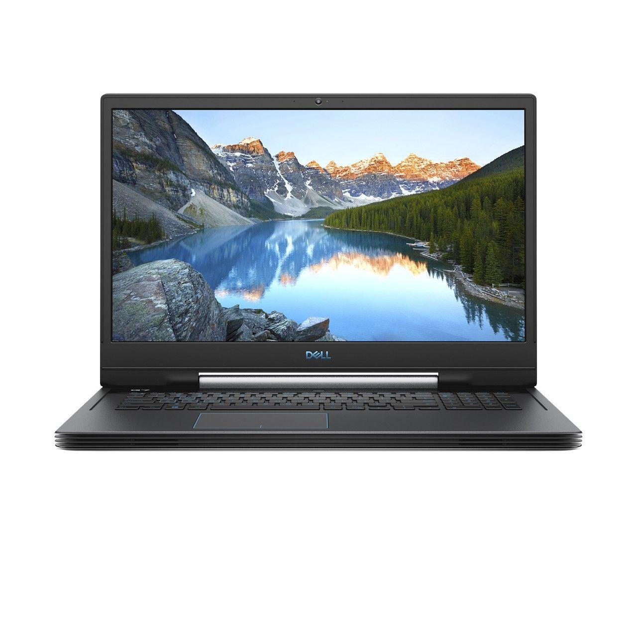"Dell G7-E1296 Gaming Laptop i7-9750H/16 GB/1 TB HDD + 256 GB SSD/NVIDIA GeForce RTX 2060 6 GB/17.3"" FHD/60Hz Refresh Rate/Windows 10/Grey"