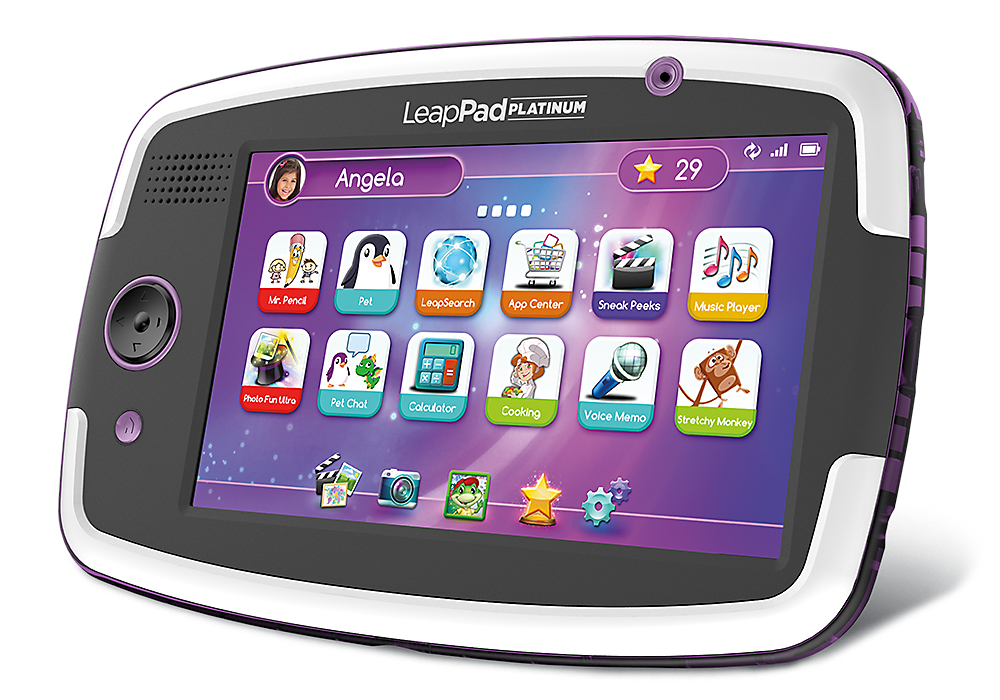 LeapFrog Platinum 8GB Pink Tablet 7 Inch