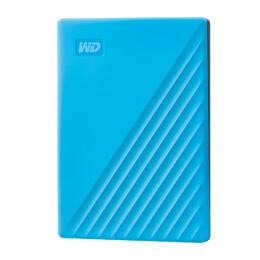 WD My Passport 4TB HDD Blue