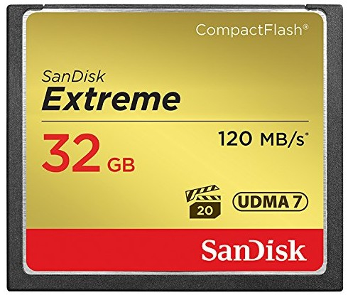 SanDisk Extreme 32GB CompactFlash Card