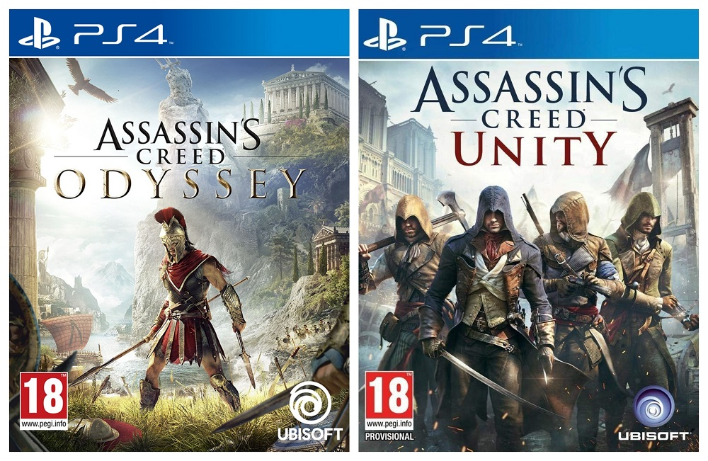 Assassin's Creed Odyssey + Assassin's Creed Unity [Bundle]