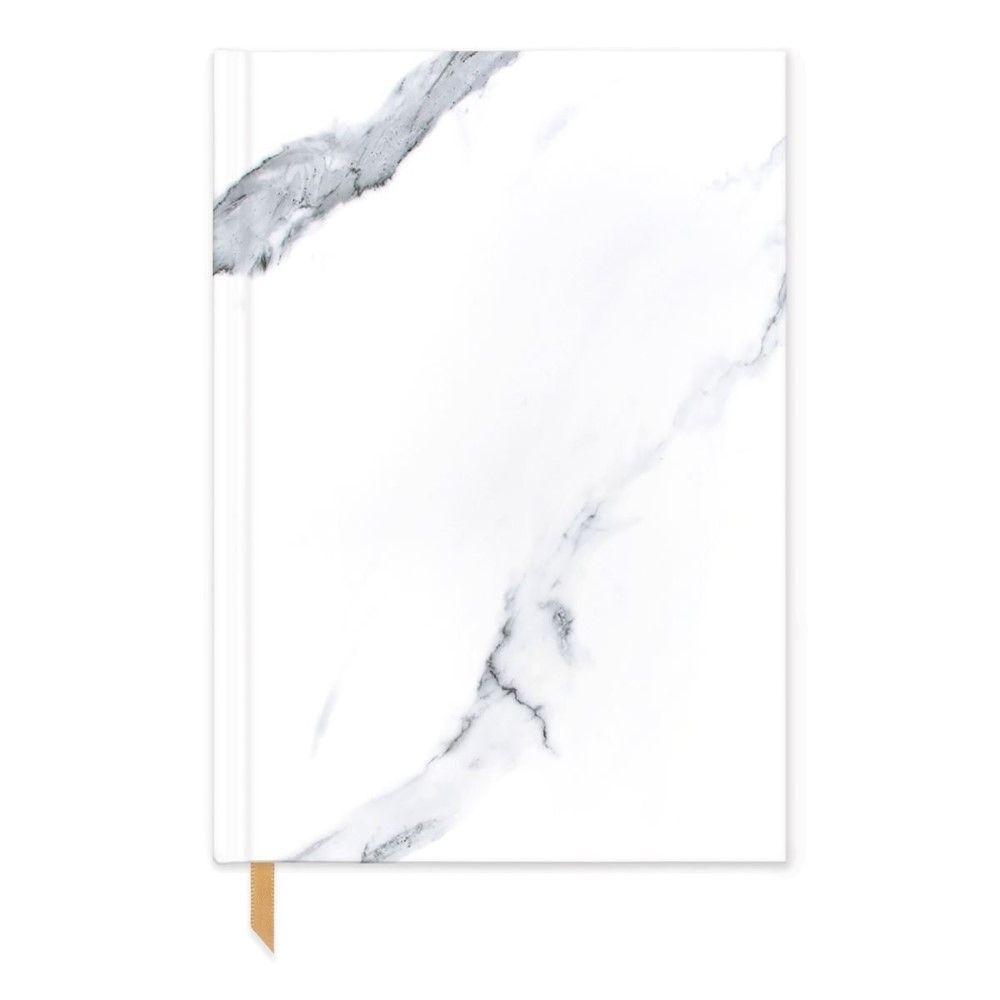 Designworks Black & White White Marble
