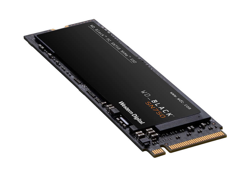 Western Digital SN750 NVME Solid State Drive 1TB Black