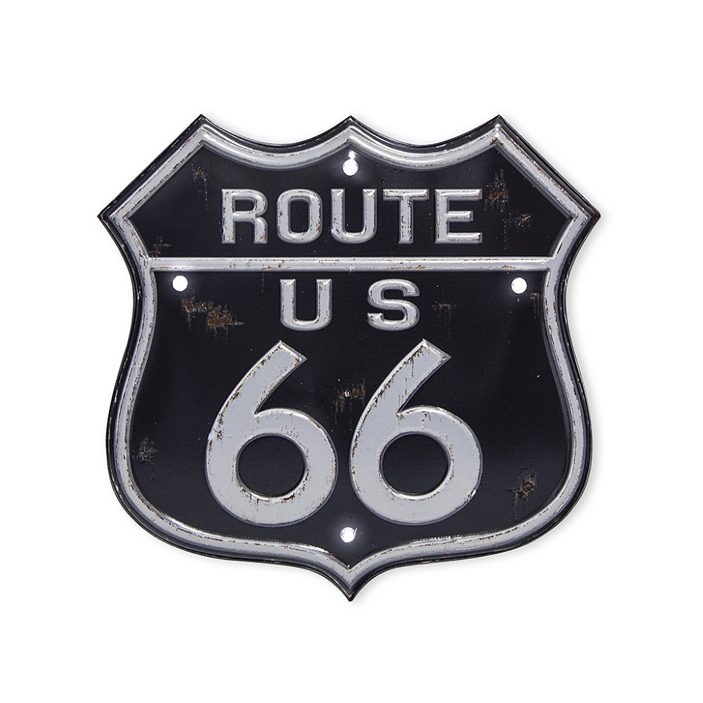 Balvi Route 66 LED Sign 18 cm