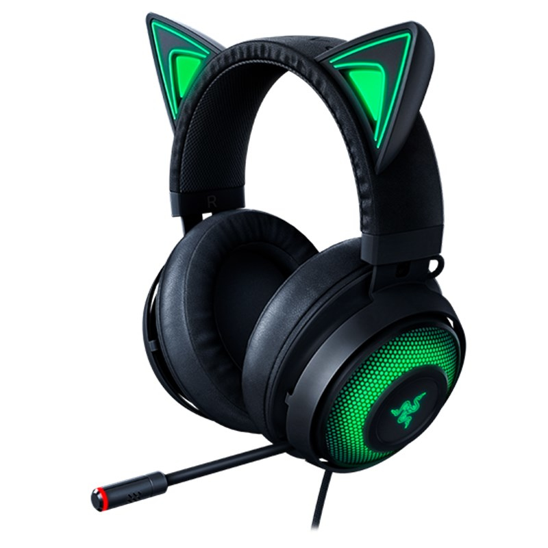 Razer Kraken Kitty Edition Gaming Headphones Black