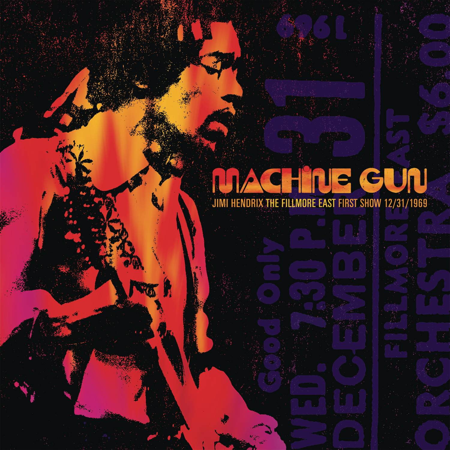 Machine Gun Jimi Hendrix the Fillmore East First