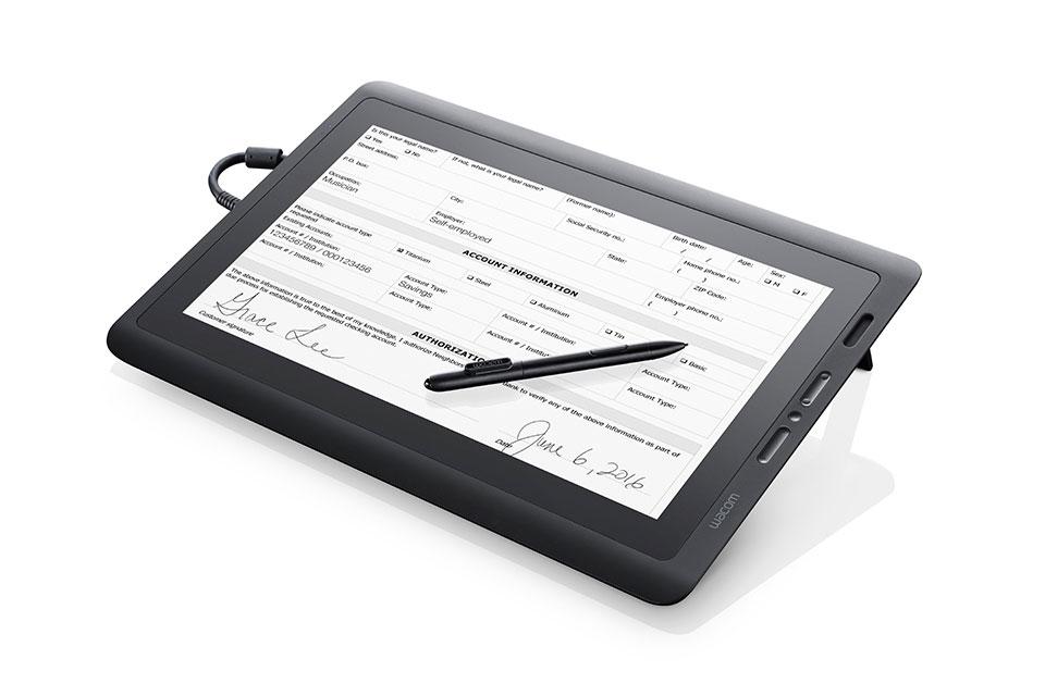 Wacom DTK-1651 Black Graphic Tablet