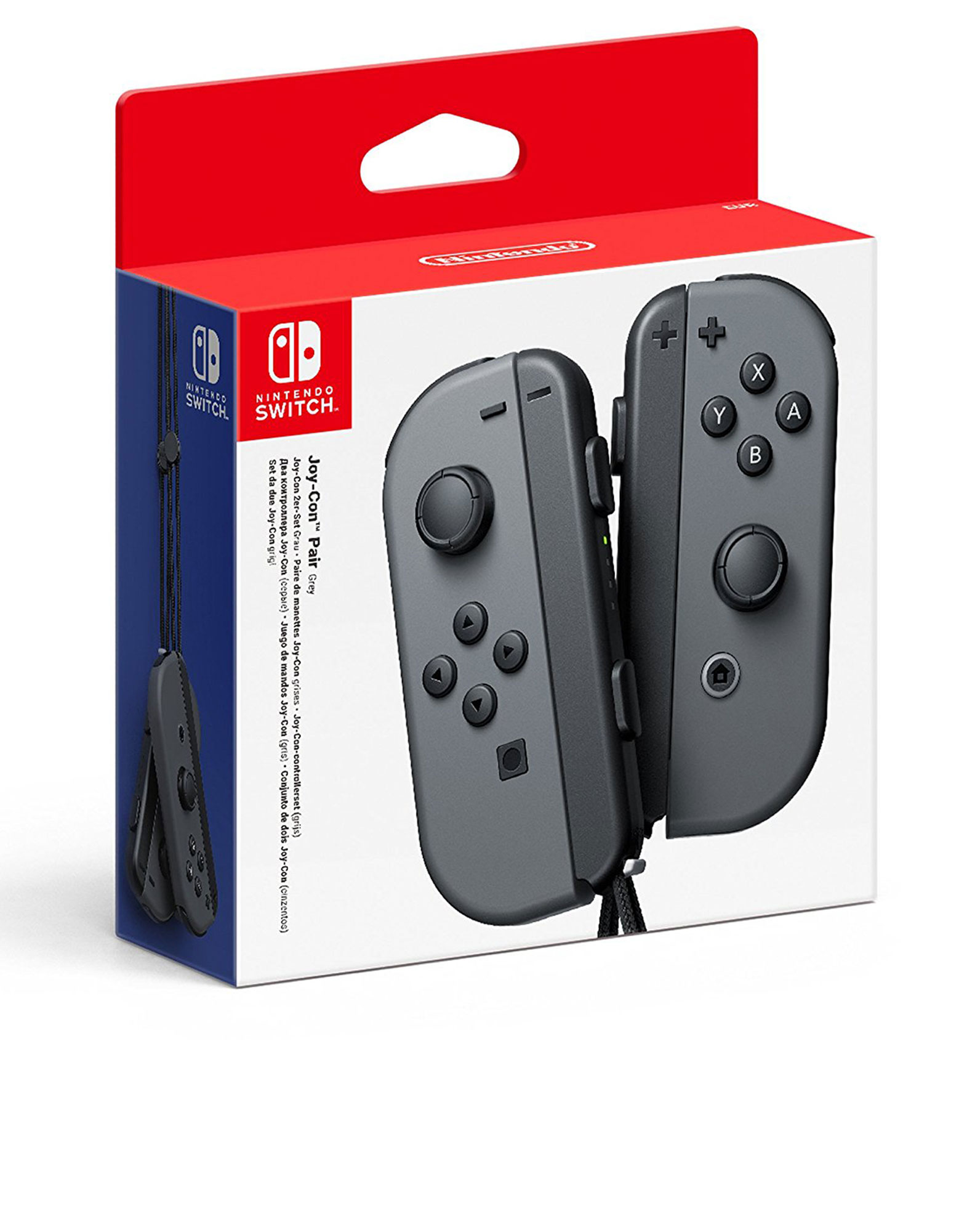 Nintendo Switch Joy-Con Controllers Grey [Pair]