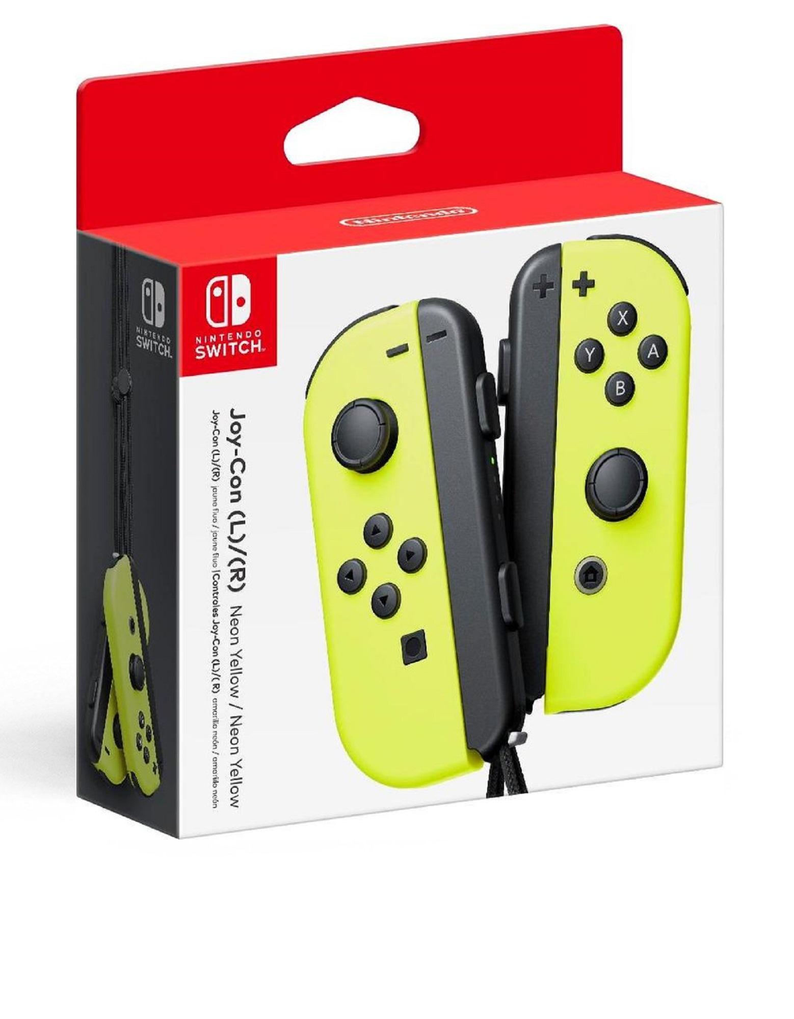 Nintendo Switch Joy-Con Controllers Yellow [Pair]