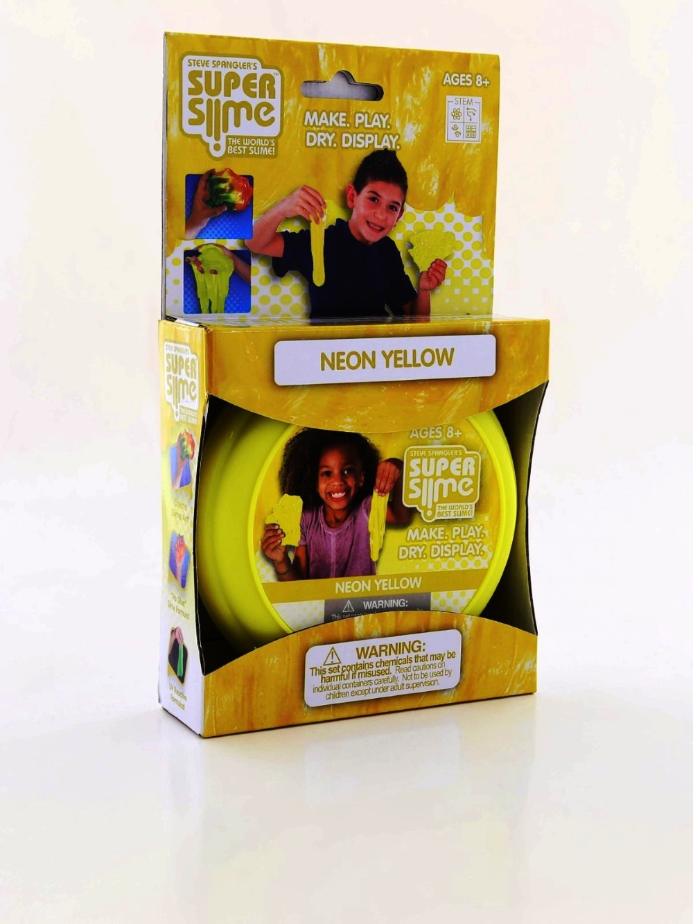 Be Amazing Toys Neon Yellow Super Slime Box