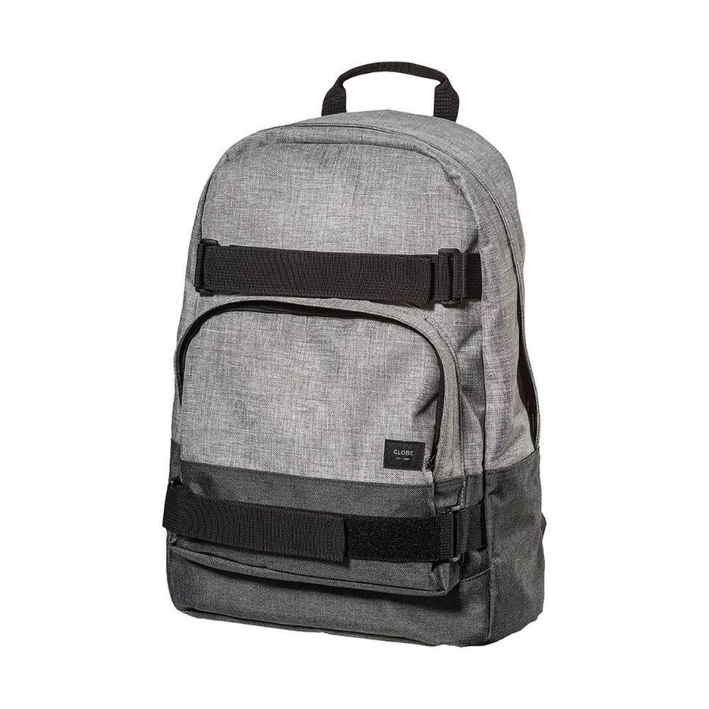 Globe Thurston Men's Fashion Backpack Grey Marle/Charcoal Marle Osfa