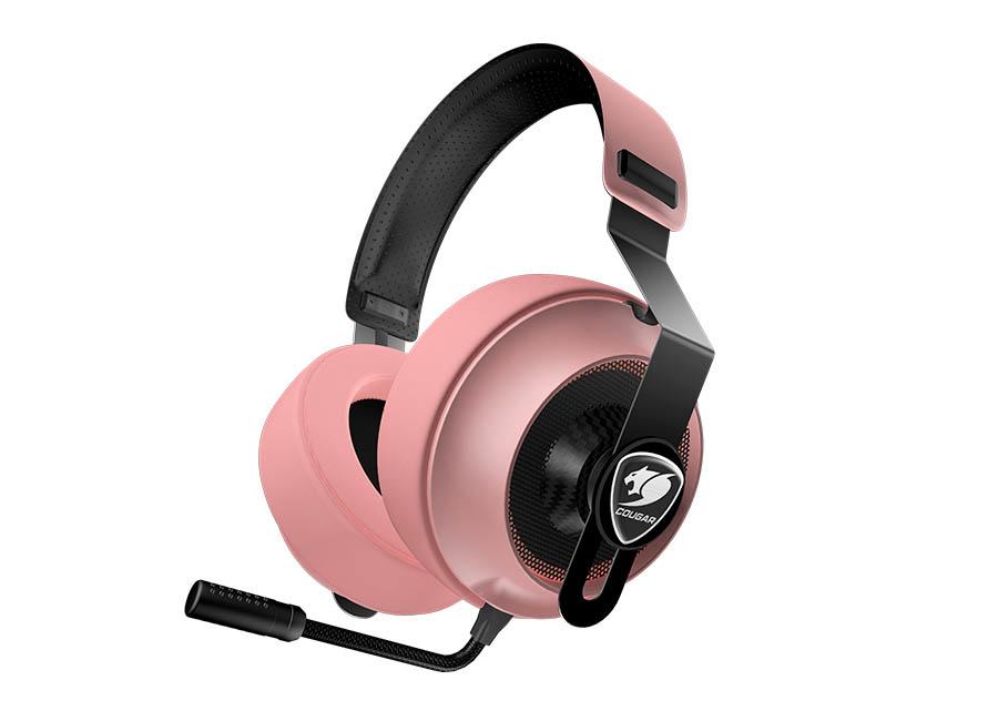 Cougar Phontum Essential Pink Gaming Headset