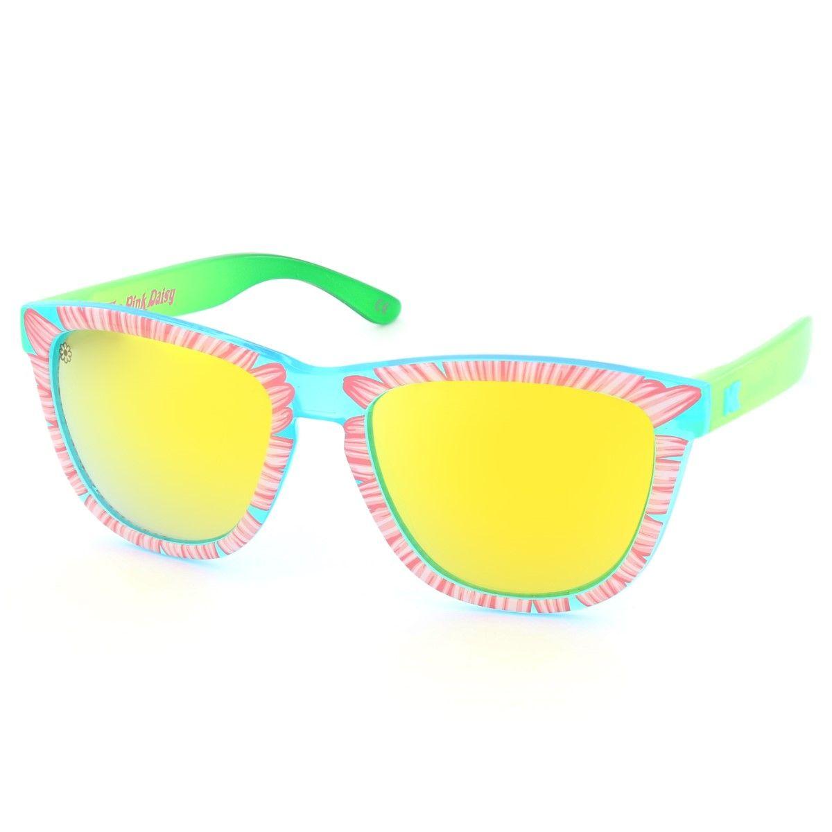 Knockaround Pink Daisy Premium Unisex Sunglasses