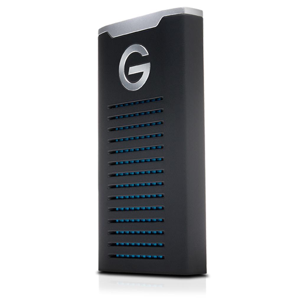 G-Technology G-DRIVE Mobile SSD 500GB R-Series External Hard Disk