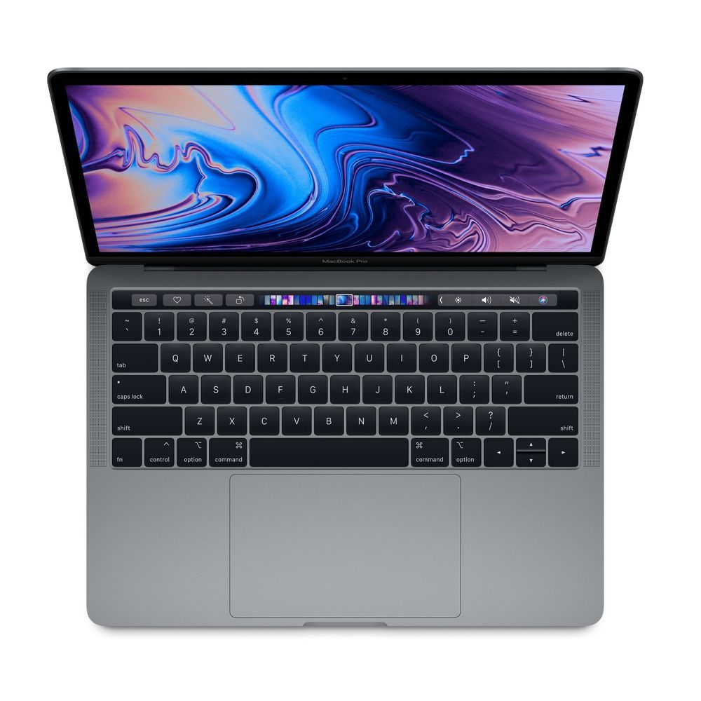 Apple MacBook Pro 13-inch with Touch Bar Space Grey 2.3GHz Quad-Core 8th-Generation Intel-Core i5/512GB Arabic/English