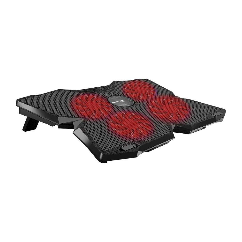 Promate Airbase-3 4 Fans Laptop Cooling Pad Black