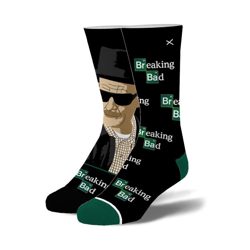 Odd Sox Breaking Bad Walter White Knit Unisex Socks Size [6-13]