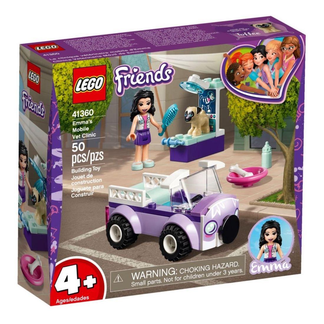 Lego Friends 4+ Emma's Mobile Vet Clinic