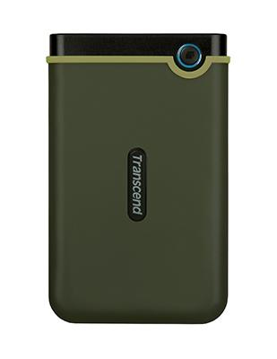 Transcend StoreJet 25M3 2TB USB 3.1 Gen 1 Portable Hard Drive Military Green