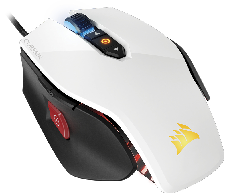 Corsair M65 Pro RGB White Gaming Mouse