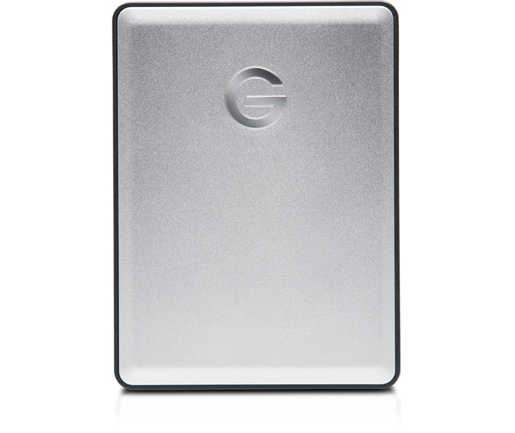G-Technology G-DRIVE Mobile 4TB USB 3.0 Silver External Hard Drive