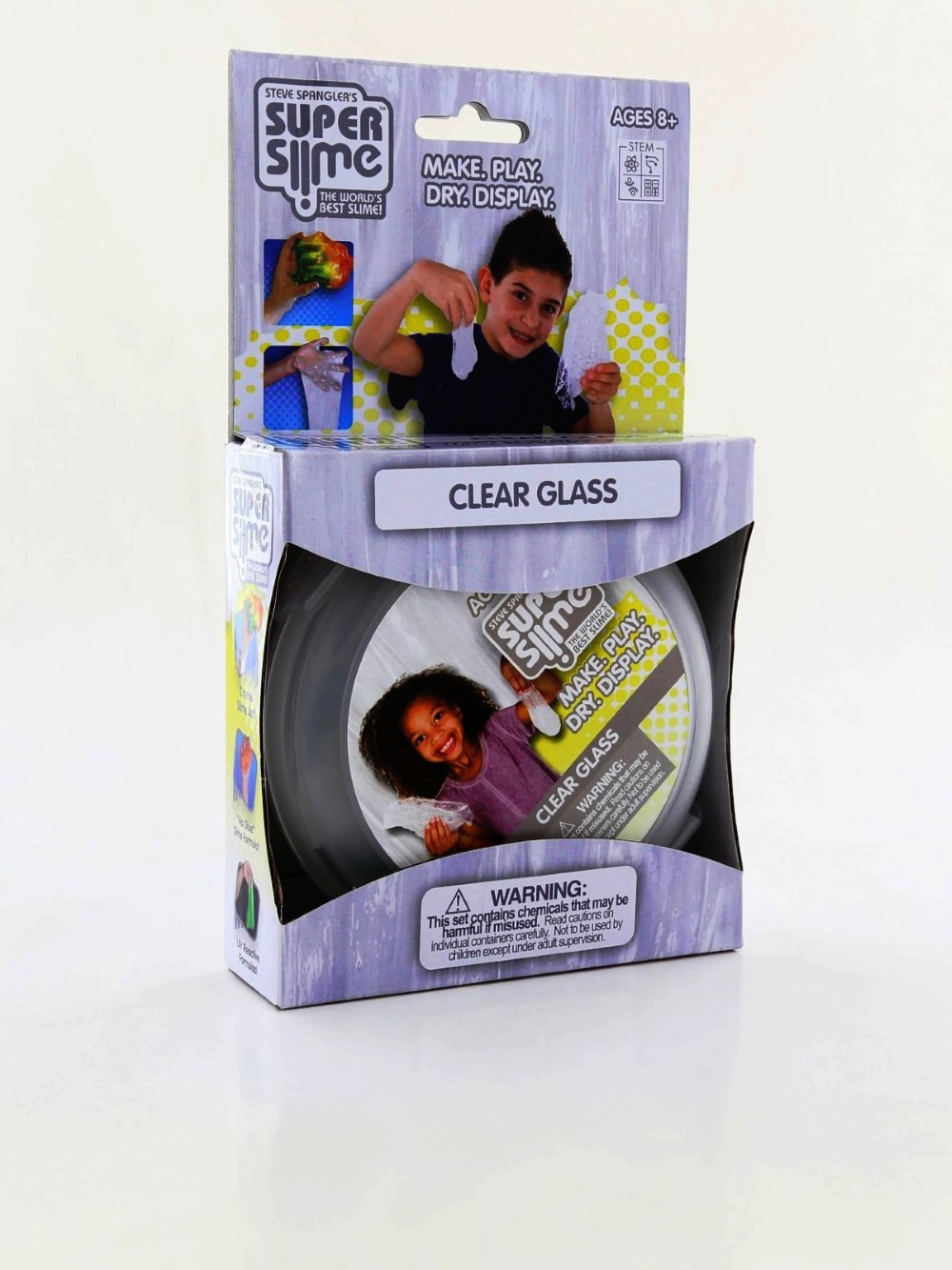 Be Amazing Toys Clear Glass Super Slime Box