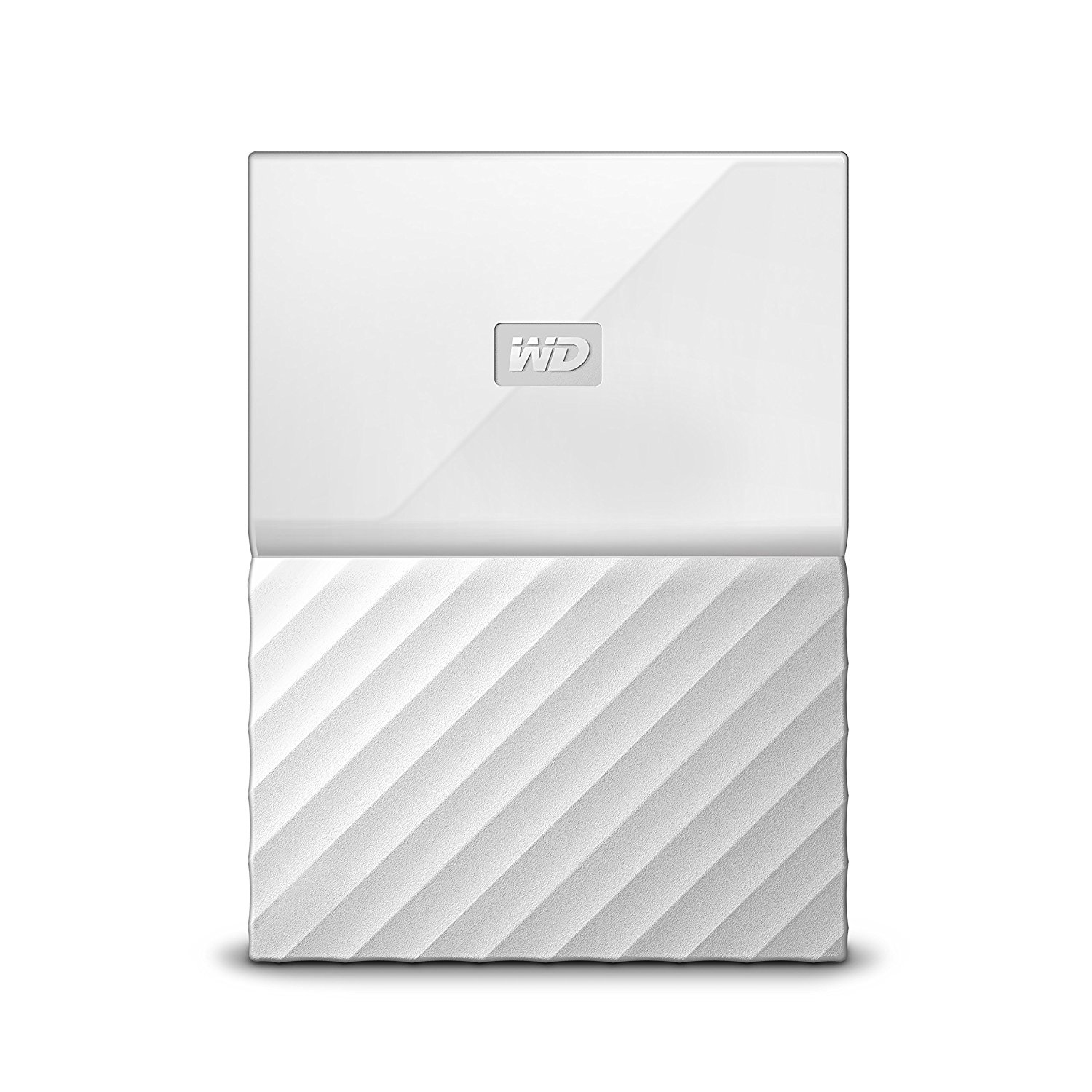 Western Digital My Passport 2TB White External Hard Drive