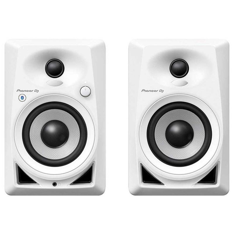 Pioneer DM-40BT Bluetooth Desktop Monitors White