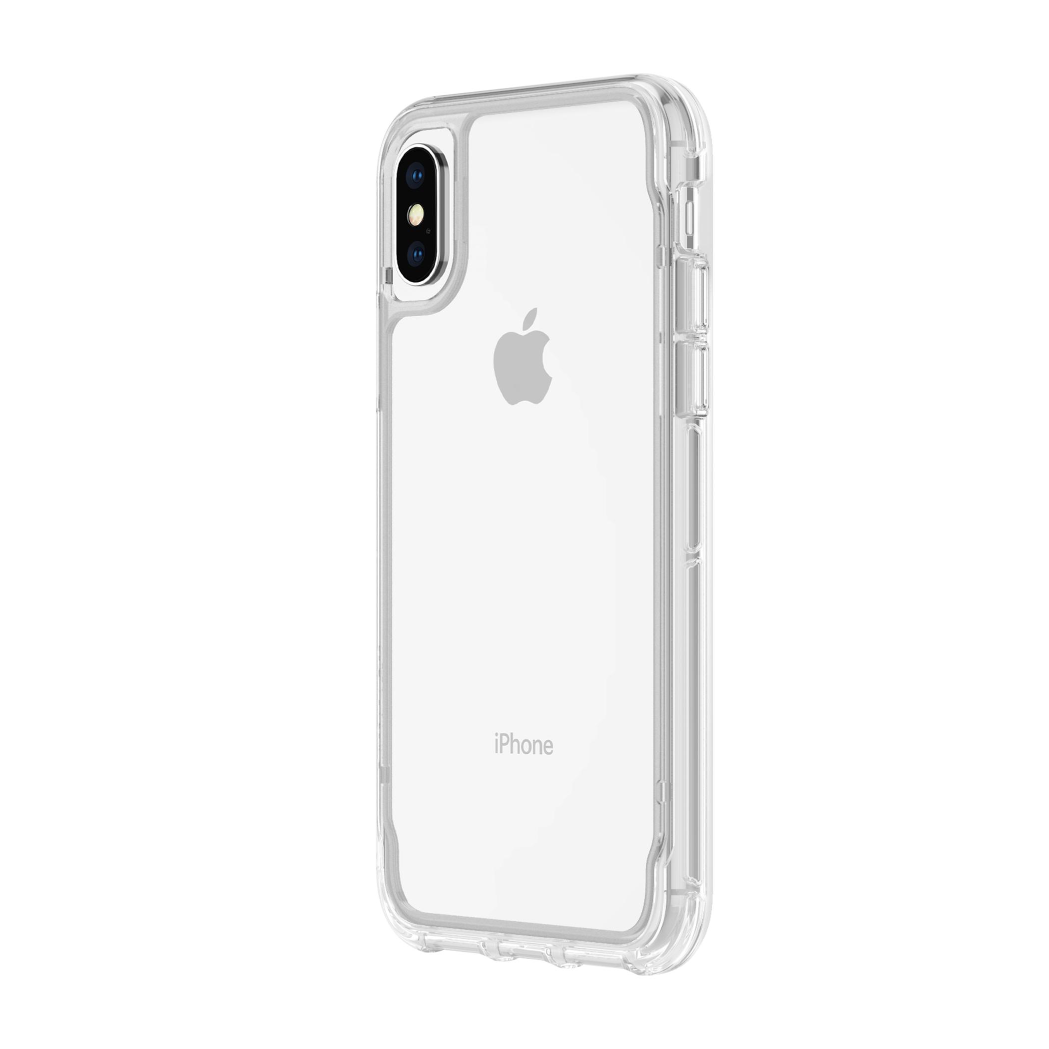 Griffin Survivor Case Clear for iPhone XS