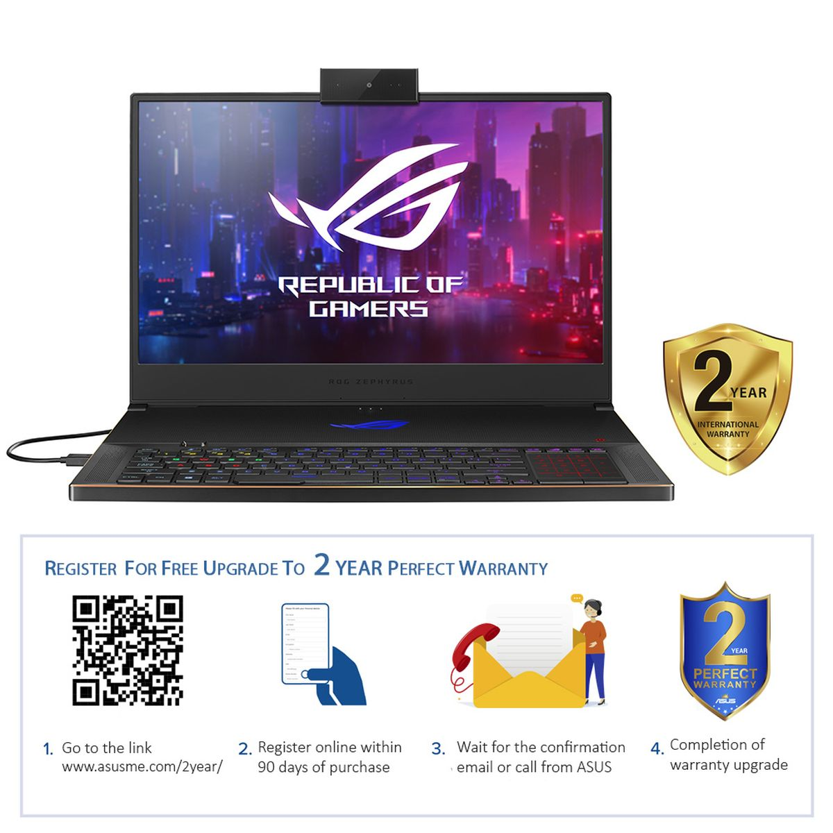 "ASUS ROG Zephyrus S GX701GXR-H6074T i7-9750H/32 GB/1 TB SSD/NVIDIA GeForce RTX 2080Q 8 GB/17.3"" FHD/Windows 10/Black"