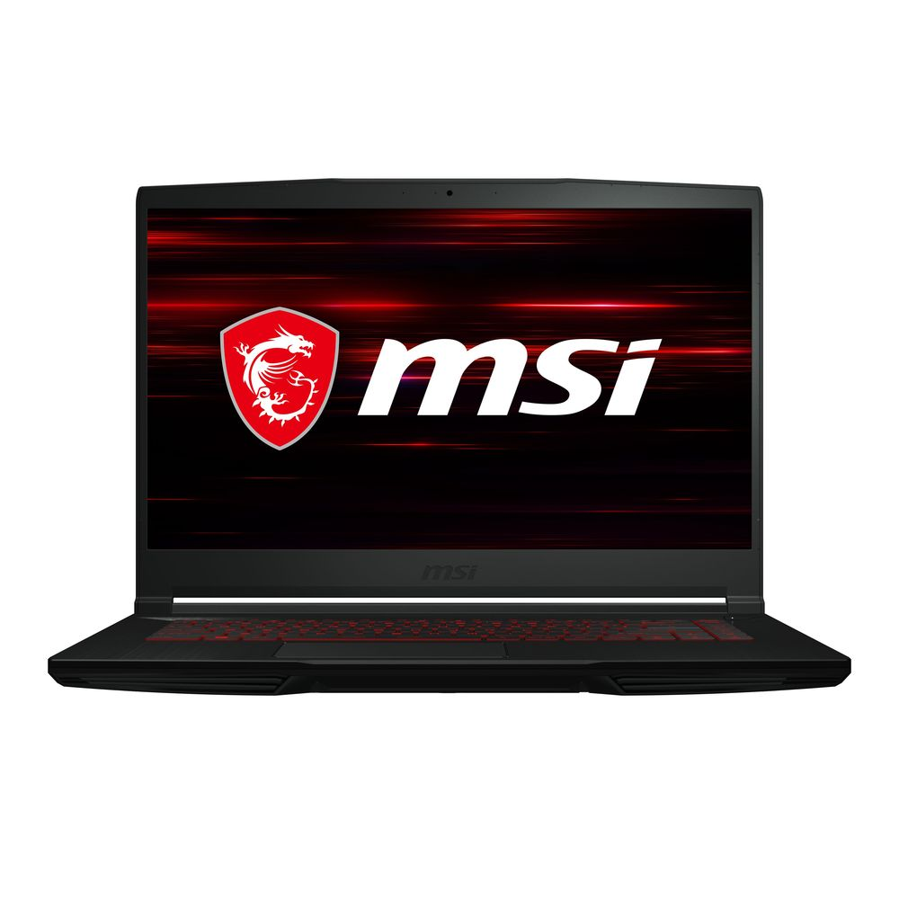 MSI GF63 Thin 10SCXR Gaming Laptop i7-10750/16 GB/512 GB SSD/NVIDIA GeForce GTX 1650 Max-Q 4 GB/15.6 Inch FHD Display/60Hz/Windows 10 Home