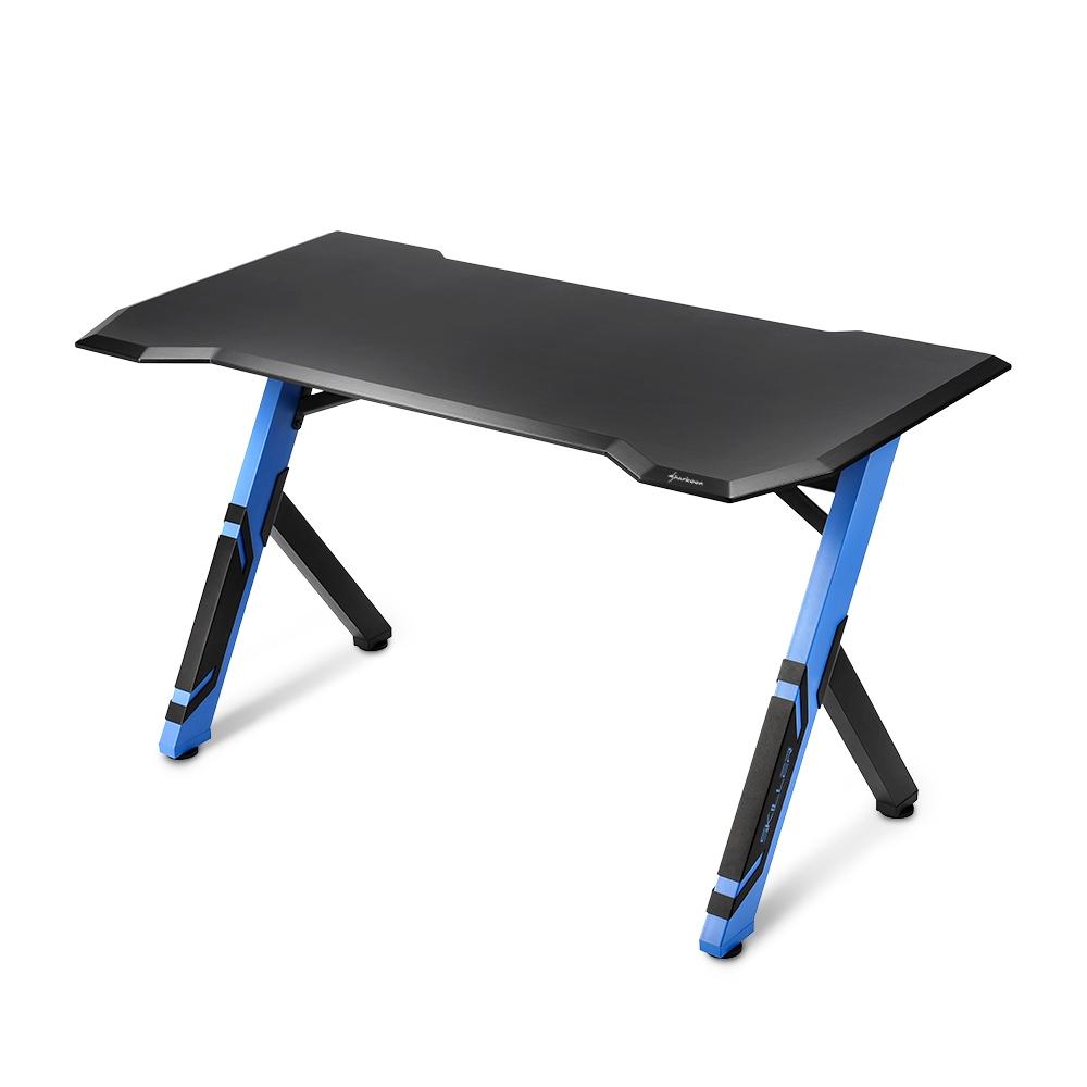Sharkoon Skiller SGD1 Black/Blue Gaming Desk