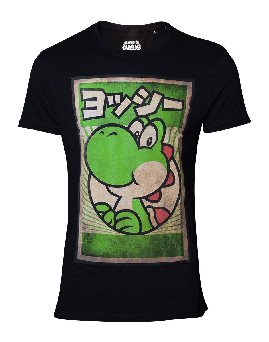 Bioworld Nintendo Propaganda Luigi T-Shirt M