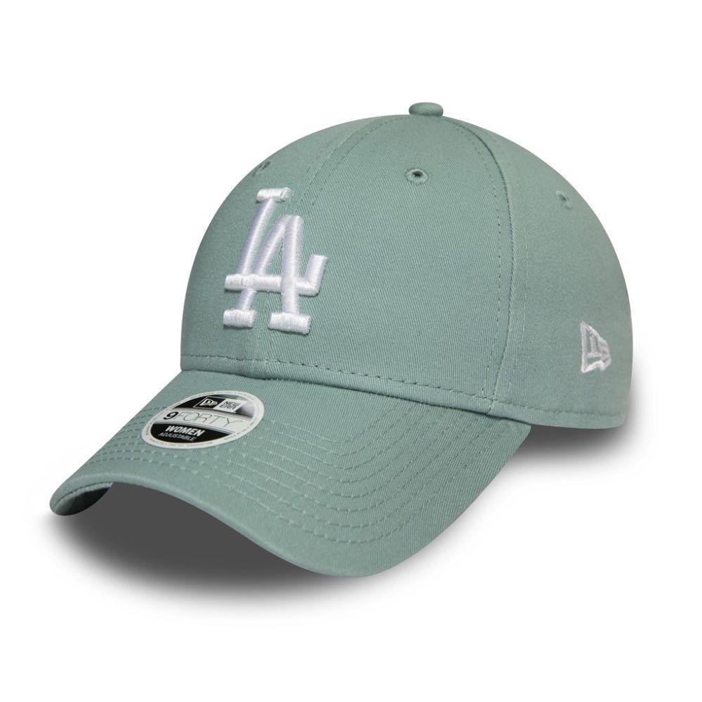 New Era Women's League Essential La Dodgers Lady'S Cap Pastel Blue Osfa