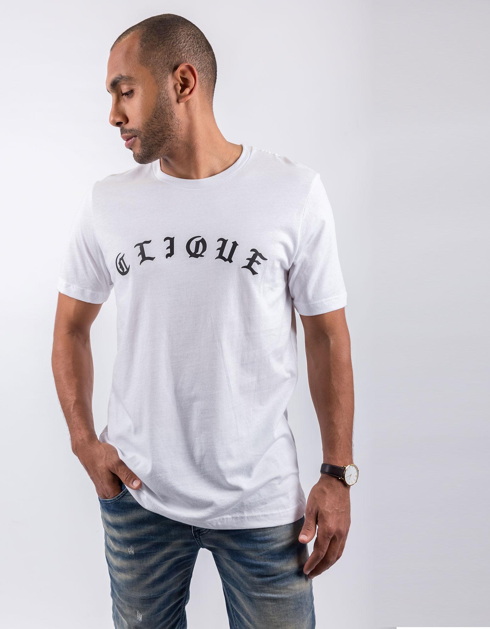 Save The People Clique White Unisex T-Shirt Xl