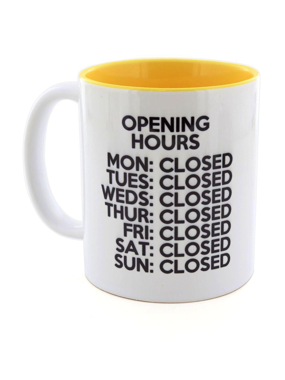 I Want It Now Closed Mug