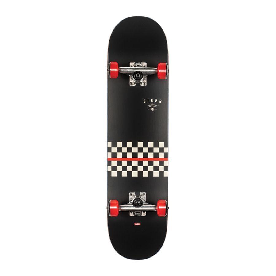Globe G1 Full On Redline Skateboard 7.75