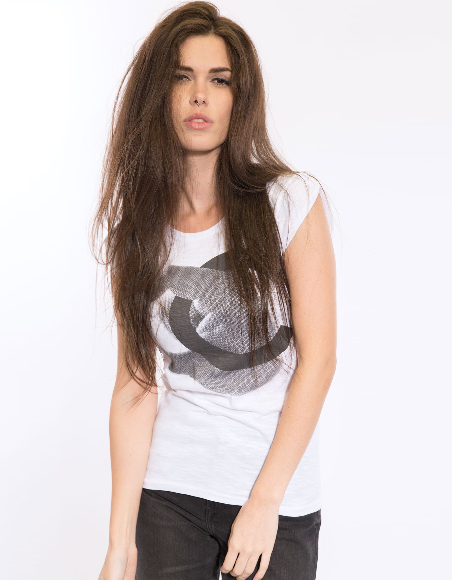 Life Is A Circus Chanel White Womens L
