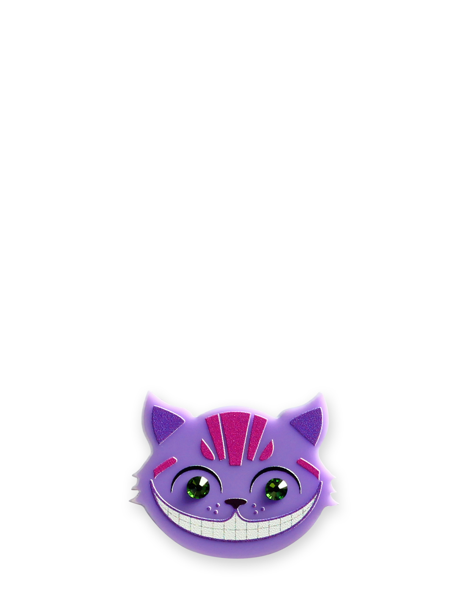 Little Moose Alice In Wonderland Cheshire Cat Purple Ring