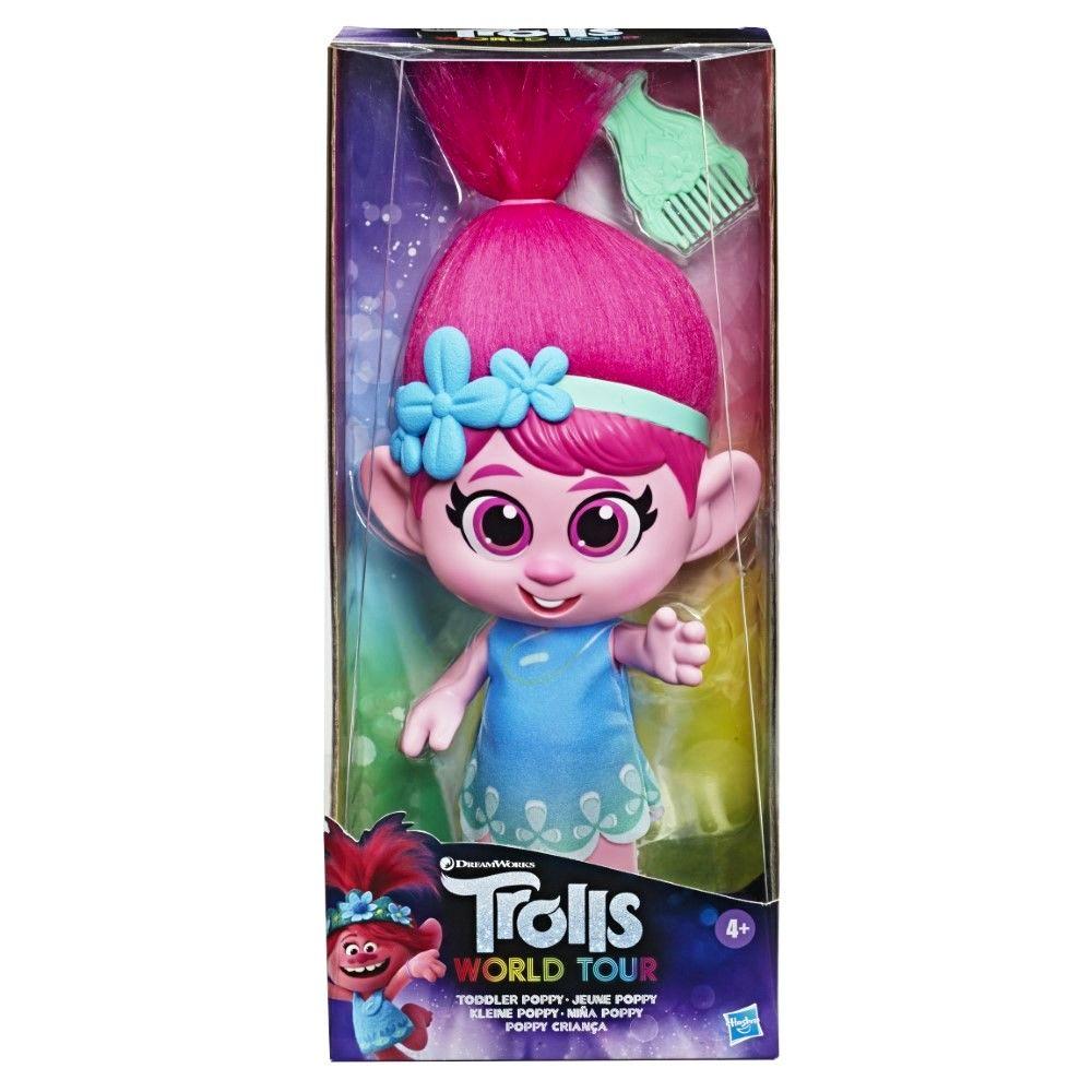 Hasbro Trolls World Tour Toddler Poppy