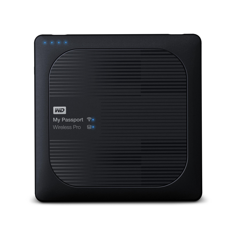 Western Digital My Passport Wireless Pro 1TB Black External Hard Drive