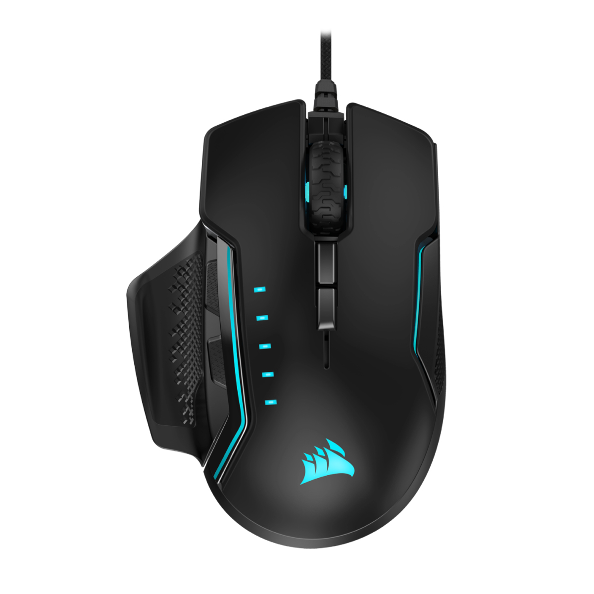 Corsaiar Glaive RGB Pro Aluminum Gaming Mouse