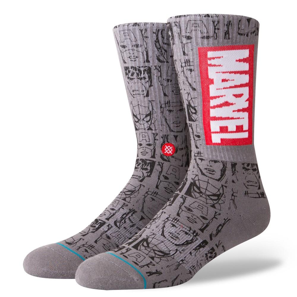 Stance Marvel Icons Men'S Socks Grey L