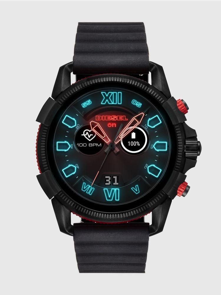 Diesel DT2010 Black Smart Watch 48mm [Gen 4]